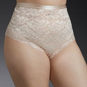 High Waist Lace Cheeky Panty